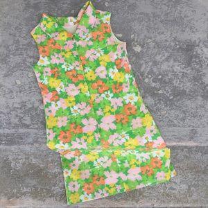 ✨Host Pick✨ Vintage Handmade Collared Shift Dress
